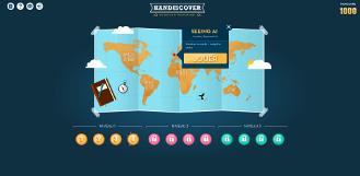 Réalisation d'une application web de type jeu vidéo pour Handiscover